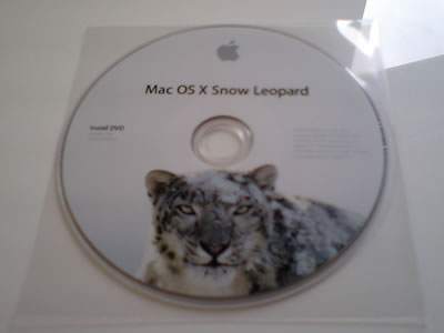 Snow Leopard インストールディスク