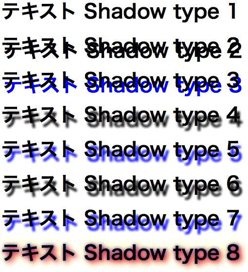text-shadow Fx3.5