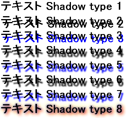 text-shadow Opera9.64